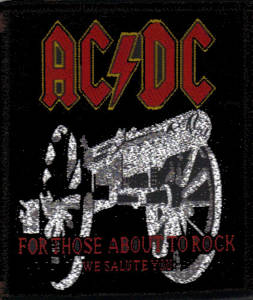 AC/DC For Those About To Rock Patch
