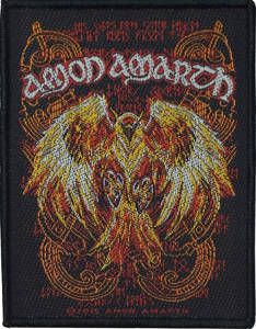 Amon Amarth pheonix Patch