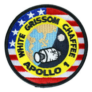 Apollo 1 embroidered Patch