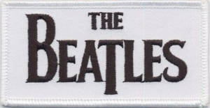 Beatles Drop T Logo Patch
