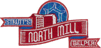 Belper North Mill Embroidered Patch
