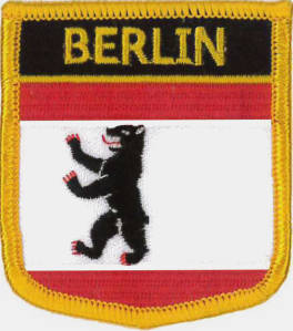 Berlin (City of) Embroidered Patch