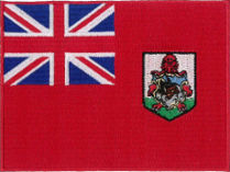 Bermuda Flag Embroidered Patch