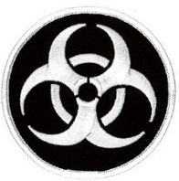 Bio Hazard (Circle) Embroidered Patch