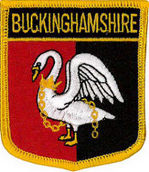 Buckinghamshire County Embroidered Patch