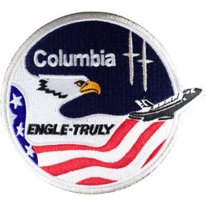 Columbia 2 Embroidered Patch