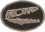 Fossil (Dinosaur) Embroidered Patch